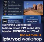 iptv/vod workshop by Digital TX Ltd